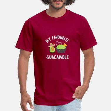 Nachos my favourite guacamole avocado guacamole i love - Men's T-Shirt