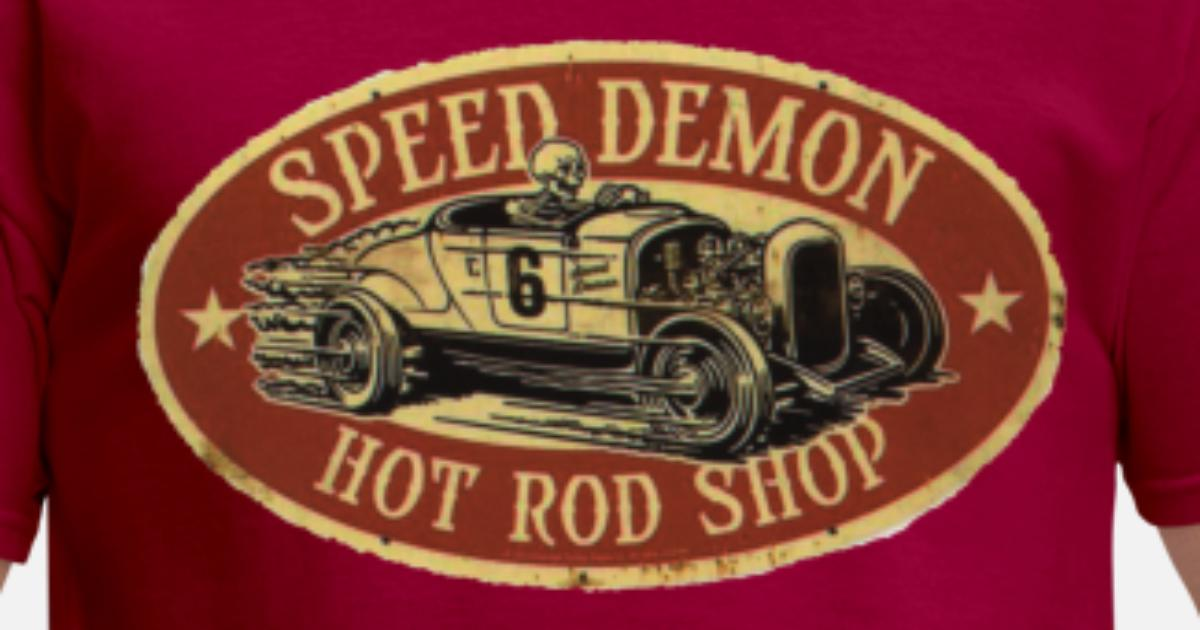 Hot Rod T-Shirt Thunder Mens Classic Car Enthusiast Custom Garage Hotrod