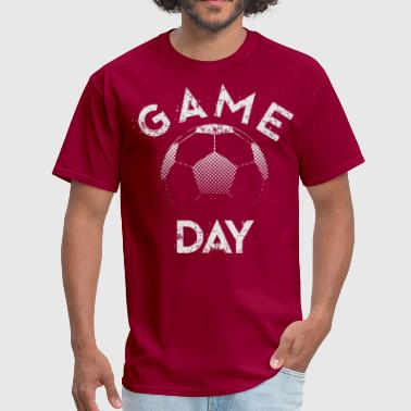 gameday soccer white - Men's T-Shirt