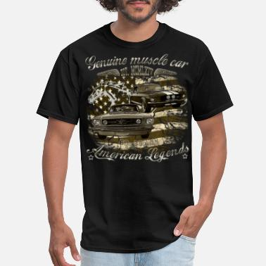 Mustang USA 60s muscle - Men's T-Shirt