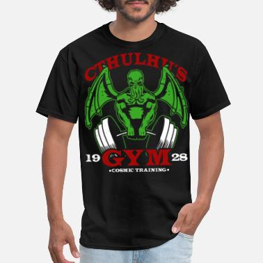 Idoetzchen CthulhuA s Gym - Men's T-Shirt