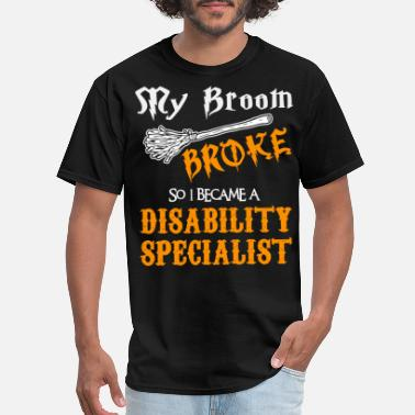 Disabled Disability Specialist - Men's T-Shirt
