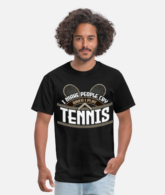 Ball T-Shirts - Tennis - Men's T-Shirt black