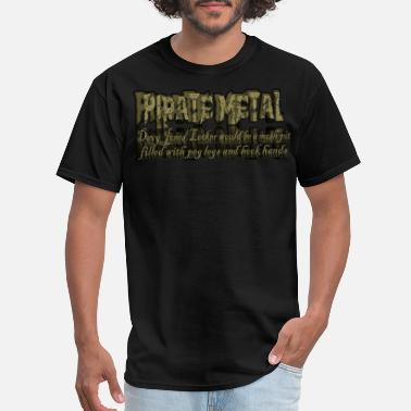 Peg PIRATE METAL - Men's T-Shirt