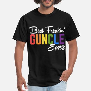 Best Freakin Friend Ever best freakin guncle color ever friend - Men's T-Shirt