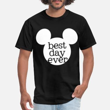 Disney Family Disney Best Day Ever Mouse for Family Vacation in - Men's T-Shirt