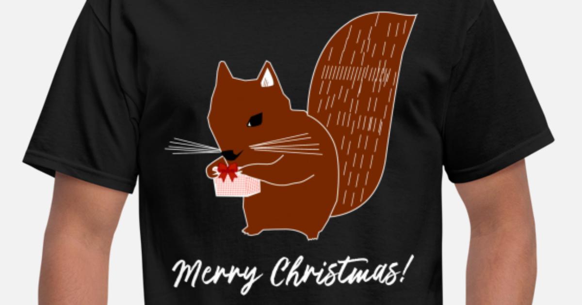 e80fedc8a Sweet Squirrel - Funny Christmas T-Shirt Men's T-Shirt | Spreadshirt