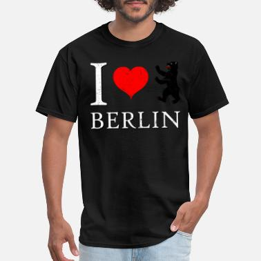 Berlin Bear I Love Berlin - Men's T-Shirt