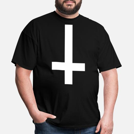 premium selection e72fc 65c08 Inverted Cross Wasted Youth Tumblr Anti Hipster Do Men s T-Shirt ...