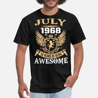 Mr Beard july 1968 50 years of being awesome - Men's T-Shirt