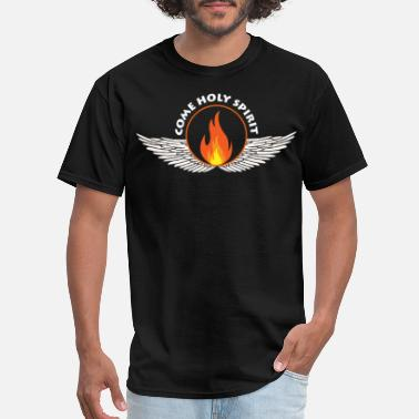 Pentecostal Pentecost come holy spirit - Men's T-Shirt
