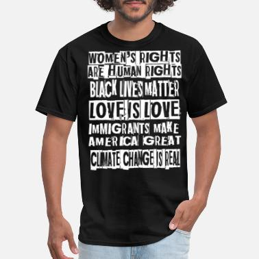 Fuck Protest Protest Gift for Activist Intersectional Feminist - Men's T-Shirt