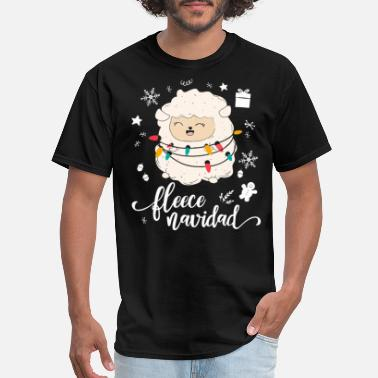 Irish Mexican Fleece Navidad Shirt Funny Feliz Mexican Christmas - Men's T-Shirt