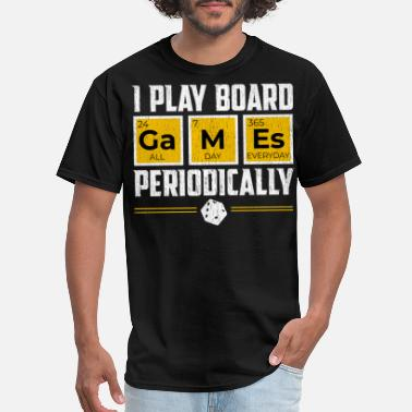 Board Board Games Periodically Gamer Science Lover Gift - Men's T-Shirt