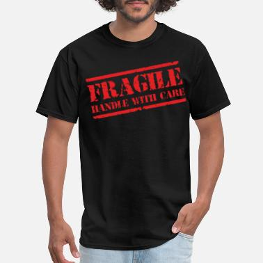 Mma Gym Bodybuilding Motivation FRAGILE MENS MMA GYM BODYBUILDING MOTIVATION TRAIN - Men's T-Shirt
