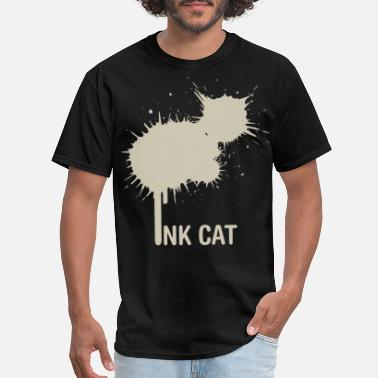 Ink Cat best friend gift for you animals lovely ca - Men's T-Shirt