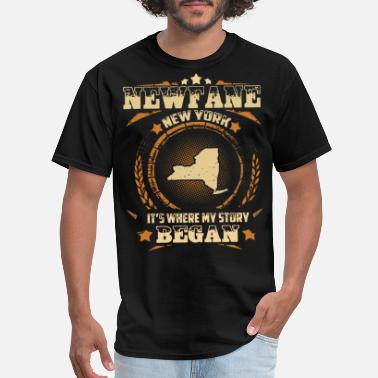 Porn York Newfane New York it is where my story began father - Men's T-Shirt
