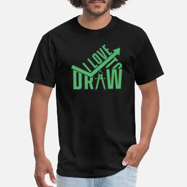 Paint Painting Drawer Painter Drawing Artist - Men's T-Shirt