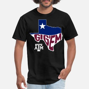 Flags Slogans texas army aggies texas flag slogan texas - Men's T-Shirt