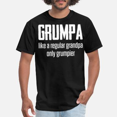 Grumpa Grumpa Like A Regular Grandpa Only Grumpier Tshirt - Men's T-Shirt