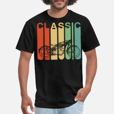 Retro Vintage Motorcycle Gift For Men Classic - Men's T-Shirt