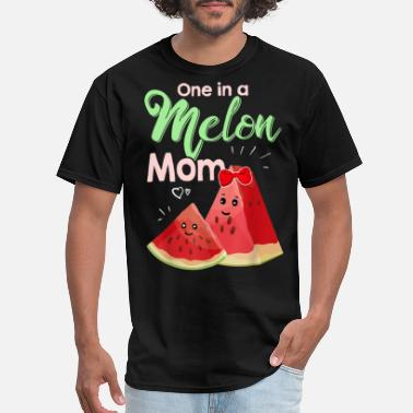 One In A Melon Mom Shirt Funny Watermelon T Shirt - Men's T-Shirt