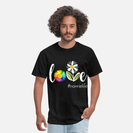 Eiffel Tower T-Shirts - love Nommie life beautiful color art paris - Men's T-Shirt black