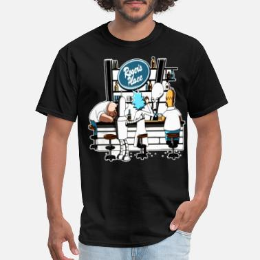 Miguel Roggeerr place hang out with friend funny happy dr - Men's T-Shirt