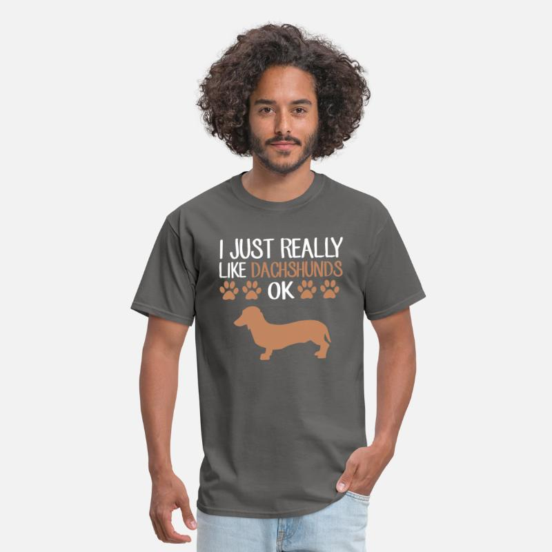 3dd823e64 Funny Weiner Dog Dachshund T-Shirt Cute Dog Lovers Men's T-Shirt |  Spreadshirt