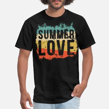 Summer Love Summer Love Summer colors - Men's T-Shirt