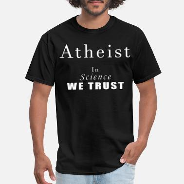 Atheism atheism - Men's T-Shirt