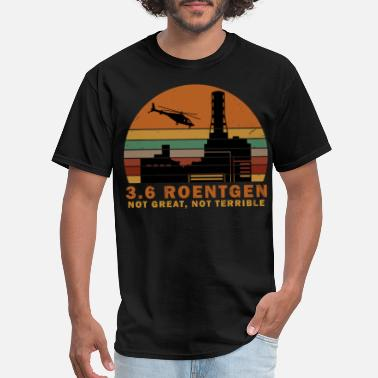 Nuclear Power Plant 3.6 Roentgen Not Great, Not Terrible vintage tee - Men's T-Shirt