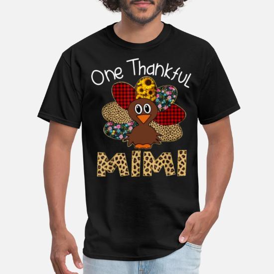 One Thankful Grandma Thanksgiving T-Shirt