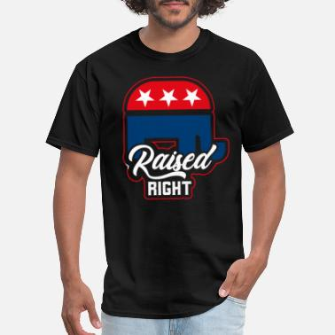 Red White And Blue america - Men's T-Shirt