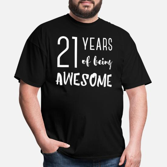 MADE IN 1997 MENS T-SHIRT FUNNY 21ST BIRTHDAY GIFT PRESENT IDEA MUM DAD DESIGN