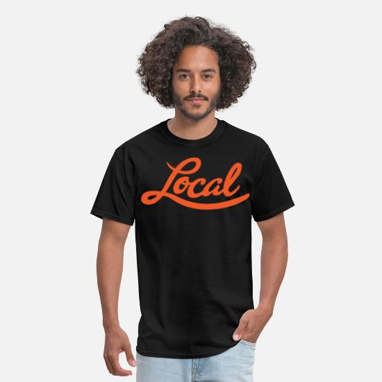 Area T-Shirts - San Francisco Local - Men's T-Shirt black