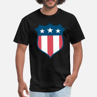 America Fighter America - Men's T-Shirt