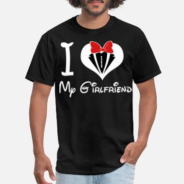 Heart i_love_my_girlfriend - Men's T-Shirt