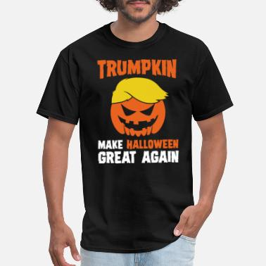 Trumpkin Donald Trumpkin Make Halloween Great Again Adult T - Men's T-Shirt