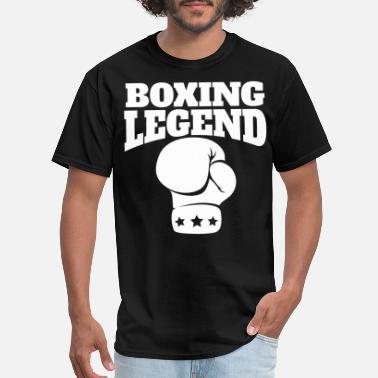 Boxing Retro Boxing Legend Boxing Glove - Men's T-Shirt