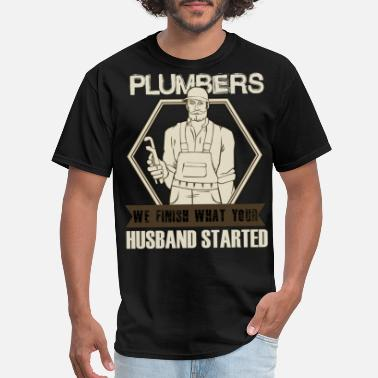 Z House We Are Plumbers T Shirt, Awesome Plumber T Shirt - Men's T-Shirt