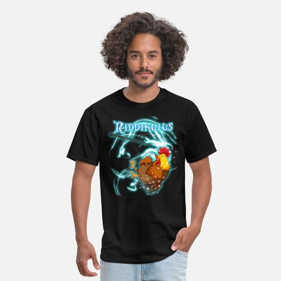 Birthday T-Shirts - Magic Chicken Funny T shirt For Chicken Lovers - Men's T-Shirt black