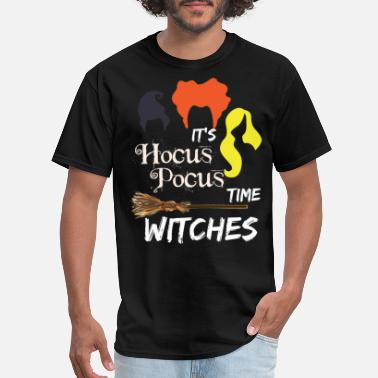 Hocus Pocus Witches It's Hocus Pocus Time Witches Tshirt - Men's T-Shirt