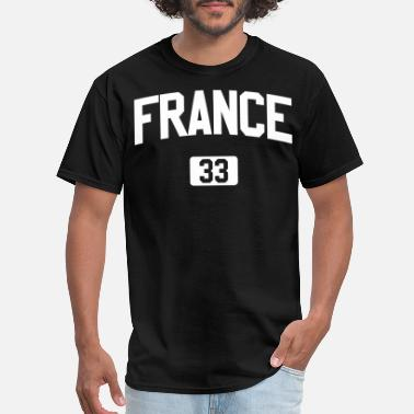 France Designs France shirt design - Men's T-Shirt