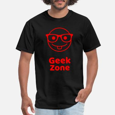 Freak-zone Geek Zone - Men's T-Shirt