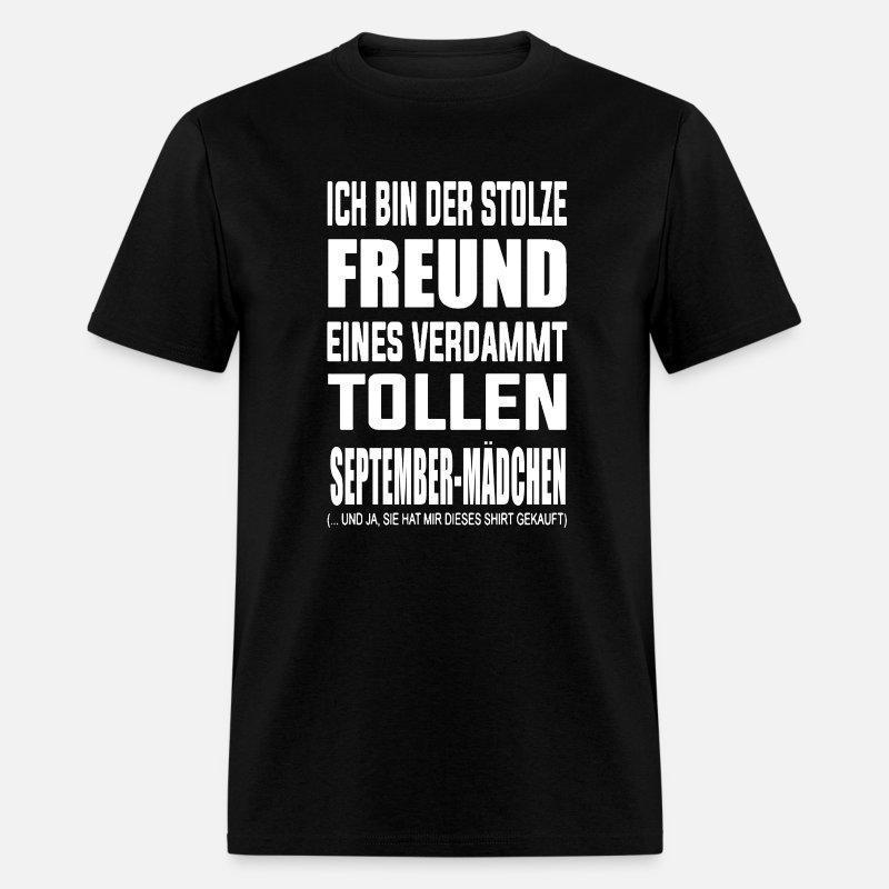 Girlfriend Friend September Born Birthday Shirt By 303260626
