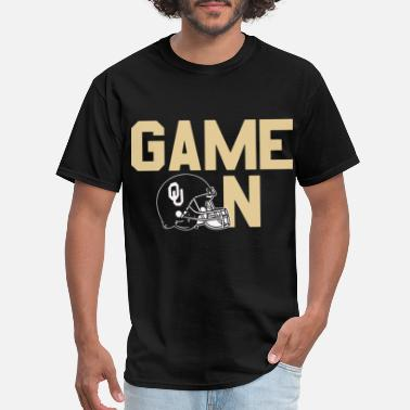 Enders Game game on oklahoma sooners play team game - Men's T-Shirt