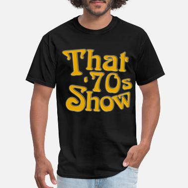 Black Tv Shows New That 70s Show Classic TV Show Men s Black hips - Men's T-Shirt