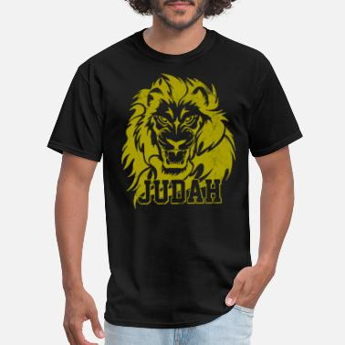 Reggae Lion Of Judah Lion Of Judah - Rastafari Rasta African Reggae - Men's T-Shirt