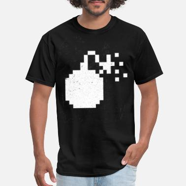 Pixelated Kids Pixel Bomb - Men's T-Shirt
